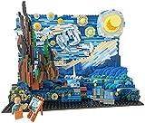 Build Vincent Willem Van Gogh The Starry Night Moc Bausteine