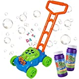 Spielzeug Baby Kinder ab 3 Jahre Kinderspielzeug Babyspielzeug Bubble Maschine Outdoor Junge Mädchen (2 x Schaumwasser)