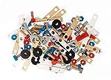 Janod J06480 Brico'Kids Werkbank Zubehörsortiment, 50 Teile