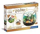 Clementoni 19248 Harry Potter Terrarium, Set mit Zubehör für EIN Miniatur-Ökosystem, magisches Spielzeug zum Aufziehen von Pflanzen, Baukasten für Potterheads ab 7 Jahren, Mehrfarbig