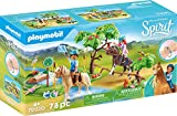 Playmobil 70330 DreamWorks Spirit Herausforderung am Fluss mit PRU und Chica Linda, Ab 4 Jahren