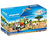 PLAYMOBIL Family Fun 70346 Zoo-Tierarzt mit Fahrzeug, Ab 4 Jahren