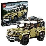 LEGO 42110 Technic Land Rover Defender, Modellauto, 4x4 Geländewagen für Kinder ab 11 Jahre und Erwachsene, Sammlerstück