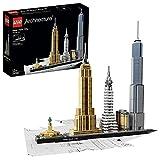 Lego 21028 Architecture New York City, Skyline-Kollektion, Set für Kinder und Erwachsene