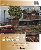 Modellbahnbau: Modellgebäude in Perfektion. Vom Bausatz zum Supermodell: Farbe, Details, Inneneinrichtung, Licht.