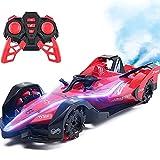 QHYZRV 2,4 GHz Wireless RC Auto High-Speed Formel 1 Rennwagen Cool Light Spray CarElectric Toys Automodell Drift Stunt Auto Geeignet Für Erwachsene Und Kinder Jungen Mädchen Geschenk