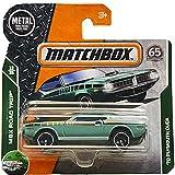 Matchbox '70 Plymouth Cuda MBX Road Trip 13/35 (19/125) 2018 Short Card