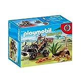 PLAYMOBIL Wild Life 6939 Wilderer mit Quad, Ab 4 Jahren [Exklusiv bei Amazon]