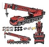 CDXZRZYH Technics Crane Turck-Set kompatibel mit Lego-Technik, 4460pcs 2.4g Dual-Fernbedienung Technischer Grove GMK6400 III-Kran mit 5 Motos, fortschrittlichem Gebäude für Erwachsene und Kinder