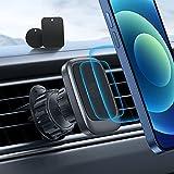 Auto Magnet Handyhalterung, OMOTON 【Starke Absaugung】 Handyhalter für Auto, Universal 360 Drehbar Kfz Lüftung Halter mit Upgraded Hook Design, kompatibel mit Allen Handys