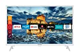 Telefunken XF32J511-W 32 Zoll Fernseher (Smart TV inkl. Prime Video / Netflix / YouTube, Full HD, Works with Alexa, Triple-Tuner) [Modelljahr 2021]