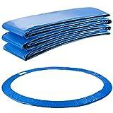 Arebos Trampolin Randabdeckung Federschutz   183, 244, 305, 366, 396, 457 oder 487 cm   aus PVC und PE   Reißfest   100% UV-beständig   Blau (blau, 396 cm)