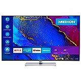MEDION X14312 108 cm (43 Zoll) UHD Fernseher (Smart-TV, 4K Ultra HD, Dolby Vision HDR, MEMC, Micro Dimming, Netflix, Prime Video, WLAN, Triple Tuner, DTS, PVR, Bluetooth)