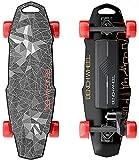 Benchwheel D1 28 'Elektro-Skateboard, 18,5 MPH Höchstgeschwindigkeit, 1000 W Motor, 7 Meilen Reichweite, 10 Pfund, 5 Lagen Maple Longboard mit drahtloser Fernbedienung