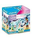 PLAYMOBIL Fairies 70656 Einhorn mit Heiler-Fee, Ab 4 Jahren