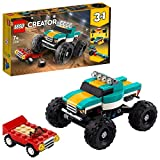 LEGO 31101 Creator 3-in-1 Monster Truck, Muscle Car oder Dragster Spielzeugauto