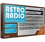 FRANZIS Retro Radio Adventskalender 2020   In 24 Schritten zum eigenen UKW Radio   ohne Löten   Ab 14 Jahren: Bauen Sie in 24 Schritten Ihr eigenes UKW-Radio! Einfache Montage ohne Löten