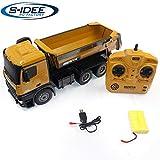 s-idee® S1573 Rc Dump Truck 1:14 LKW 10 Kanal Kipplader Huina 1573