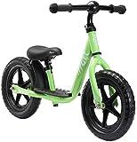 Löwenrad Kinder Laufrad ab 3, 4 Jahre, 12 Zoll Jungen und Mädchen leichtes Lauflernrad höhenverstellbar, tiefer Einstieg, Grün
