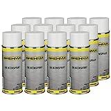 12x Silikonspray Schmiermittel Schmierstoff Siliconespray Gleitmittel Spray 400 ml