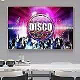 Puzzle 1000 teile KTV Rockmusik Party Disco Sexy Nachtbild Moderne Dekoration puzzle 1000 teile Pädagogisches intellektuelles Stressabbau-Spielzeug-Puzzle Spaß Kinder Erwachse50x75cm(20x30inch)