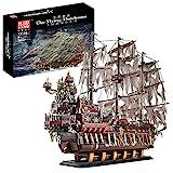 VSEG Piratenschiff Modell, Mould King 13138 Piraten Schiff, 3653 Teile Creative Piratenschiff Segelschiff Modellbau Kompatibel mit Lego