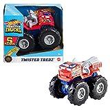 Hot Wheels GVK41 - Monster Trucks Maßstab 1:43 Rev Tredz 5 Alarm Fahrzeuge, für Kinder ab 3Jahren