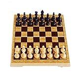 LKKPT Schach Qualitäts-Schach-Set Magnetic Schachfigur tragbaren Mini Folding-Brett for Eltern-Kind-Spiel Family Party Puzzle-Brettspiel Schachspiel