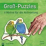 """Groß-Puzzles: Thema """"Tiere"""": 6 Motive für die Aktivierung von Menschen mit Demenz"""