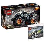 Collectix Lego Set - Lego Technic Monstertruck Monster Jam Max-D 42119 + Lego Technic Hubschrauber 30465 (Polybag)
