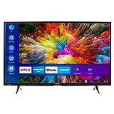MEDION X14000 101,6 cm (40 Zoll) UHD Fernseher (Smart-TV, 4K Ultra HD, Dolby Vision HDR, Netflix, Prime Video, WLAN, HD Triple Tuner, DTS Sound, PVR, Bluetooth)