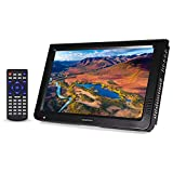 VBESTLIFE Tragbarer Fernseher Digital Analog Fernsehen Portable TV,1024x600 Auflösung,RMVB/AVI/MPEG/MKV/MOV 1080P-Video