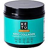 Perfect Keto – Keto Collagen Salted Caramel, 340g Pulver   mit grassfeed Kollagen, MCT Pulver und natürlichem Aroma   Keto Pulver ohne Zucker   perfekt für Deine Keto Diät und Low Carb Ernährung