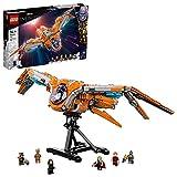 LEGO 76193 Marvel Super Heroes Das Schiff der Wächter Avengers Spielzeug Set mit Raumschiff aus Guardians of The Galaxy