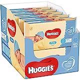 Huggies Pure, sensitive Baby-Feuchttücher, 99% Wasser, 10 x 56 Tücher, Monatsbox