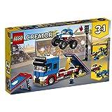 Lego Creator 3-in-1 Stunt-Truck-Transporter (31085) kreatives Kinderspielzeug