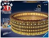 Ravensburger Puzzle 11148 Puzzle 3D 216 pièces Colisée illuminé Ravensburger Kolosseum in Rom bei Nacht 11148-leuchtet im Dunkeln