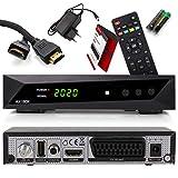 Opticum SBOX - PVR Aufnahmefunktion Timeshift - Multimedia - 1080P Digital HDTV Sat Receiver für Satellitenfernseher - Astra Hotbird vorinstalliert - HDMI, SCART, USB, DVB-S/S2 + Anadol HDMI Kabel