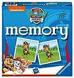 Ravensburger - 20743 Paw Patrol Memory, der Spieleklassiker für alle Fans der TV-Serie Paw Patrol, Merkspiel für 2-8 Spieler ab 4 Jahren