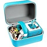 PAIYULE Tasche für Toniebox Starterset und Tonies Hörfiguren, Ordnungsbox Musical Organizer Aufbewahrungsbox für viele Tonies, Kinderkopfhörer Tonie -Nur Box( Hellblau)
