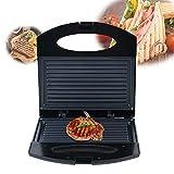 Elektrogrill Steakmaschine Kontaktgrill Haushalt Tischgrill Doppelseitige Heizung Paninigrill Maker Tisch Grill 750W