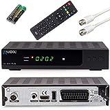 Anadol HD 202c Plus USB Aufnahme–Funktion Timeshift (Schwarz) digitaler Full HD 1080p Kabel-Receiver [Umstieg Analog auf Digital] (HDTV, DVB-C / C2, HDMI, SCART, Coaxial, Mediaplayer, USB 2.0)