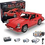 CADA Technik Master C61045W 1429PCS Retro-Sportwagen RS mit Fernbedienung, Spielzeugset für kleine Partikel