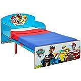 Worlds Apart Paw Patrol Bett für Kleinkinder, Holz, blau, 143 x 77 x 42.5 cm