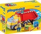 PLAYMOBIL 1.2.3 - 70126 Kipplaster mit Bauarbeiter, ab 1,5 Jahren