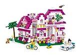 Sluban SL95306, Große Villa (726 Teile) [M38-B0536], Spielset , Klemmbausteine, City, mit Spielfigur, Mädchenträume