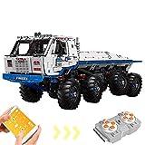 YQRX Technology Truck Remote-Controlled Kit 3647 Teile Technologie Bausteine mit Motoren BAU Spielzeug mit Lego kompatibel