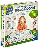 Ravensburger ministeps Aqua Doodle - Malen für Kinder ab 18 Monaten, Kreatives Malset für fleckenfreien Malspaß mit Wasser- inklusive Malmatte und Stift