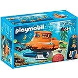 PLAYMOBIL Kinder Sport und Action U-Boot mit Unterwassermotor Set - 9234