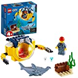 LEGO 60263 City Mini-U-Boot für Meeresforscher Unterwasser-Set, Tauchabenteuer-Spielzeug für Kinder ab 4 Jahren